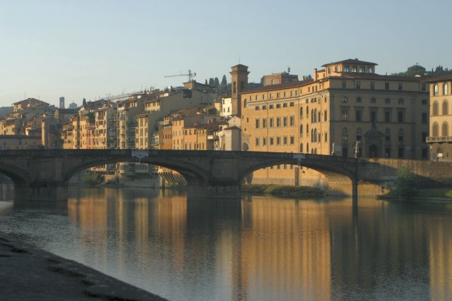Arno River in Firenze