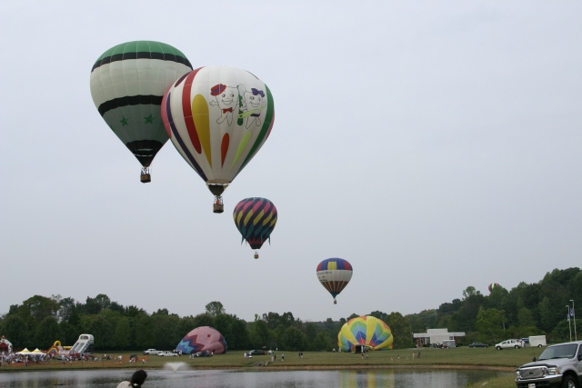 Balloon Rally at PSTCC 2005