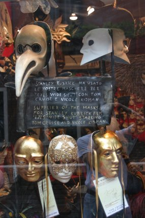 Masks from the movie 'Eyes Wide Shut'