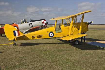 Tiger Moth and T-6