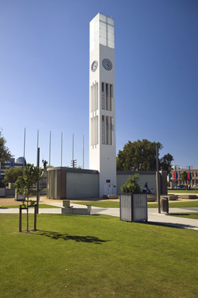 Clock tower, Palmerston North, New Zealand