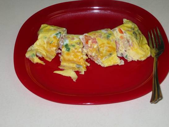 Ziploc Omelet - and enjoy!