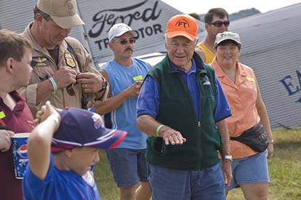 Chuck Yeager at EAA Airventure 2007, Oshkosh, Wisconsin