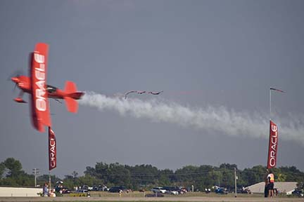 Sean D. Tucker at EAA Airventure 2007, Oshkosh, Wisconsin