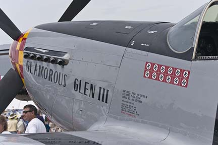 P-51 Glamorous Glen III at EAA Airventure 2006, Oshkosh, Wisconsin
