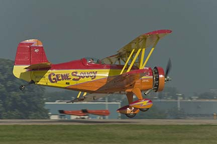 Gene Soucy at EAA Airventure 2006, Oshkosh, Wisconsin