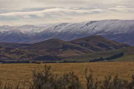 Rural New Zealand, South Island