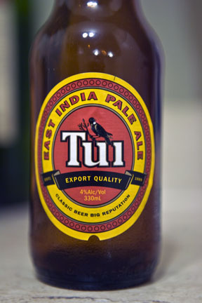 Tui Beer (named after the bird!)
